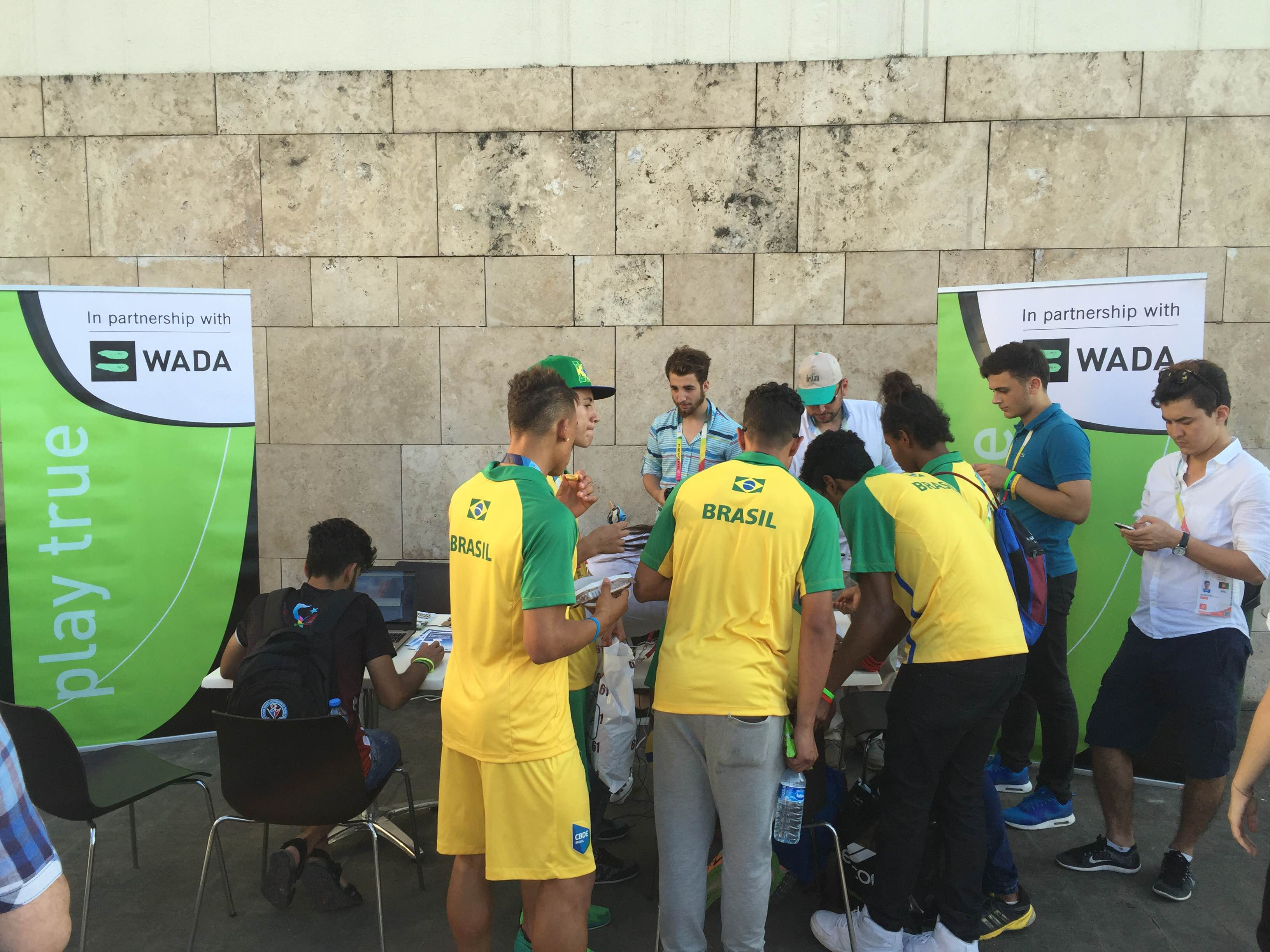 GYMNASİADE 2016 TRABZON – WADA OUTREACH PROGRAM