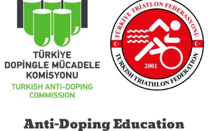 ANTI-DOPING EDUCATION WEBINAR WERE HELD WITH TURKEY TRIATHLON FEDERATION