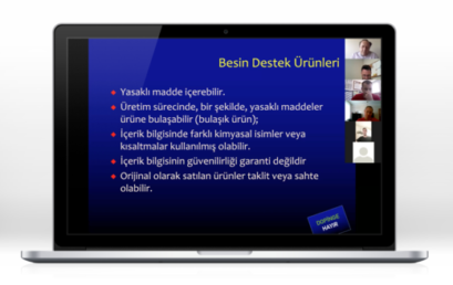 ONLINE EDUCATION SEMINAR WAS HELD WITH TURKISH SWIMMING FEDERATION