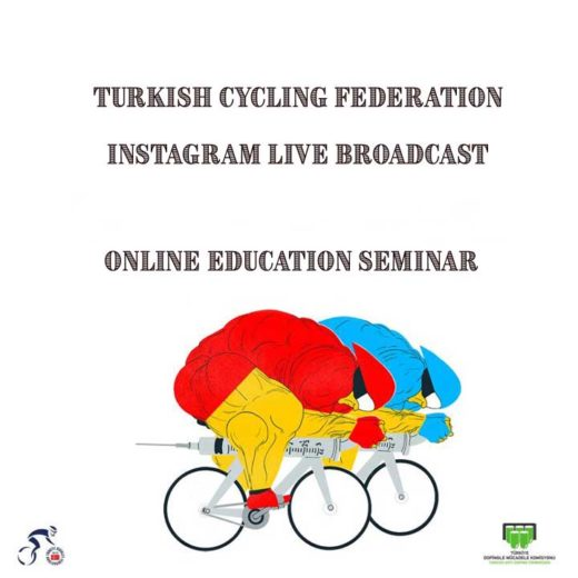 ONLINE EDUCATION SEMINAR WAS HELD WITH TURKISH CYCLING FEDERATION