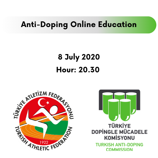 ANTI-DOPING ONLINE EDUCATION WAS HELD WITH THE TURKEY ATHLETICS FEDERATION