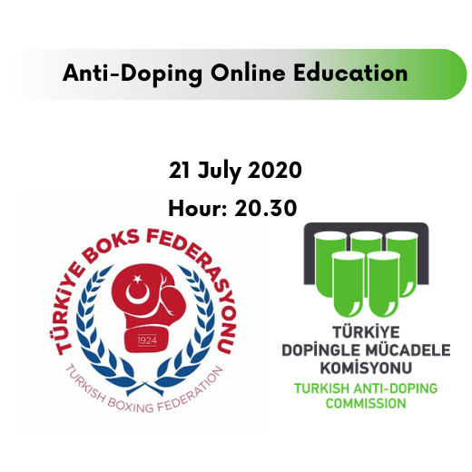 ANTI-DOPING ONLINE EDUCATION HELD WITH TURKISH BOXING FEDERATION