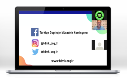 ANTI-DOPING ONLINE EDUCATION HELD WITH TURKEY CANOE FEDERATION