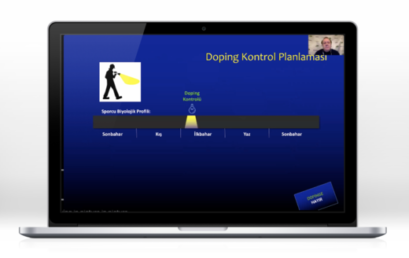 ANTI-DOPING ONLINE EDUCATION HELD WITH THE ENKA SPORTS CLUB
