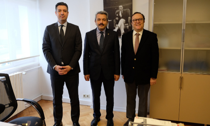 TURKISH REPUBLIC THE MINISTRY OF YOUTH AND SPORTS DEPUTY MINISTER İHSAN SELİM BAYDAŞ VISITS TURKISH ANTI-DOPING COMMISSION
