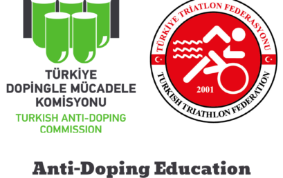 ANTI-DOPING EDUCATION WEBINAR WERE HELD WITH TURKEY TRIATHLON FEDERATION