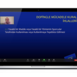 ANTI-DOPING ONLINE EDUCATION HELD WITH TURKISH WEIGHTLIFTING FEDERATION